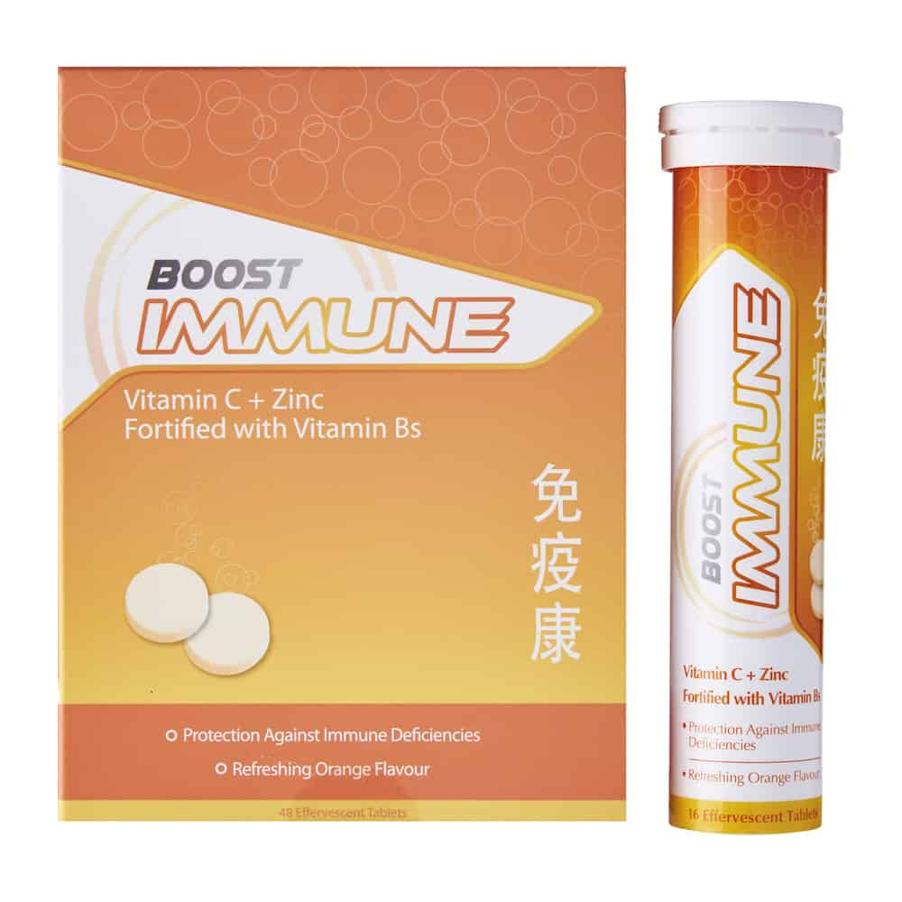 Boost Immune (16 Effervescent Tablets)