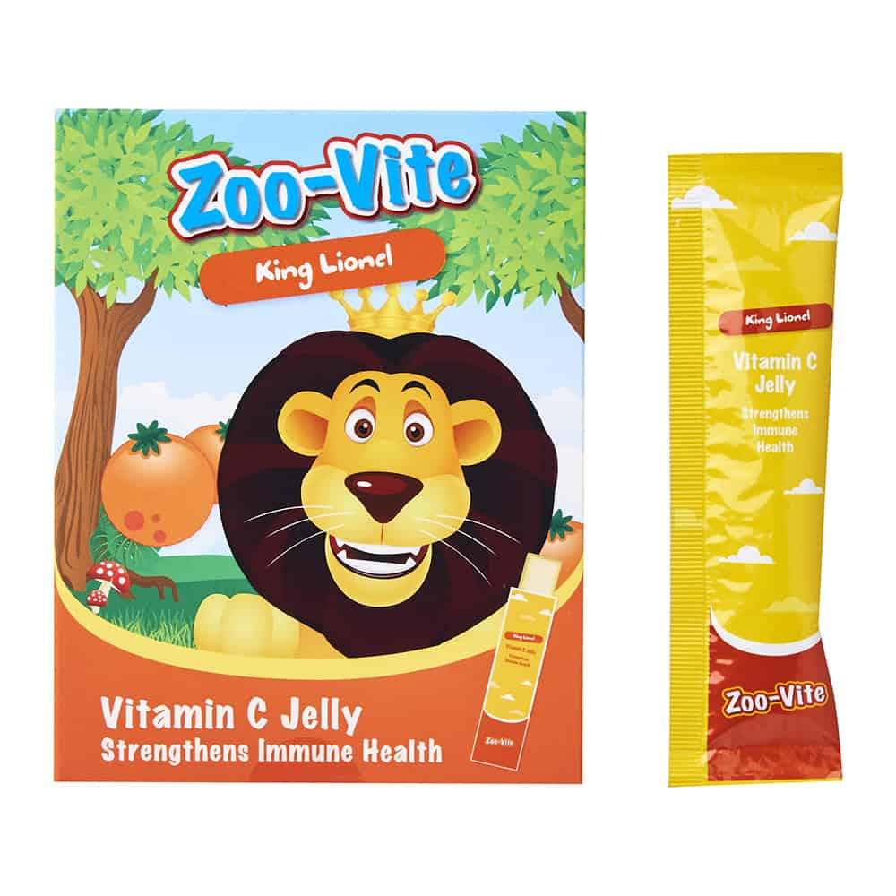 Zoo-Vite Jelly Sticks - Vitamin C