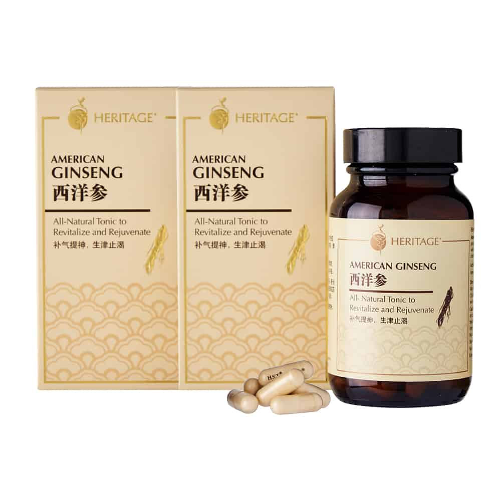 American Ginseng (Kambal na pakete)