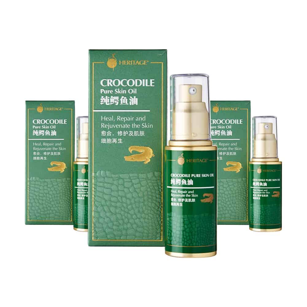 Crocodile Pure Skin Oil (Triple Pack)