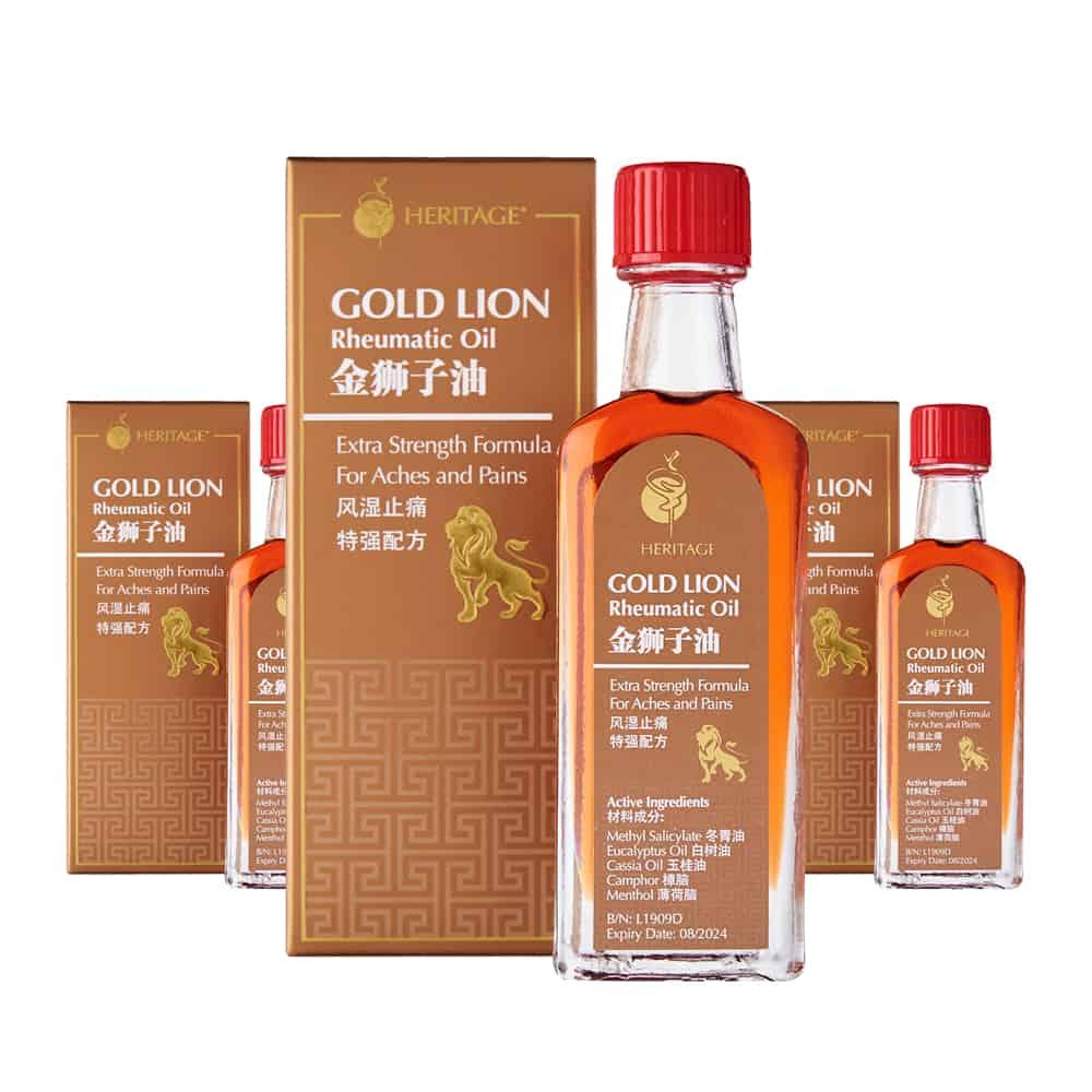 Gold Lion Rheumatic Oil (Triple Pack)