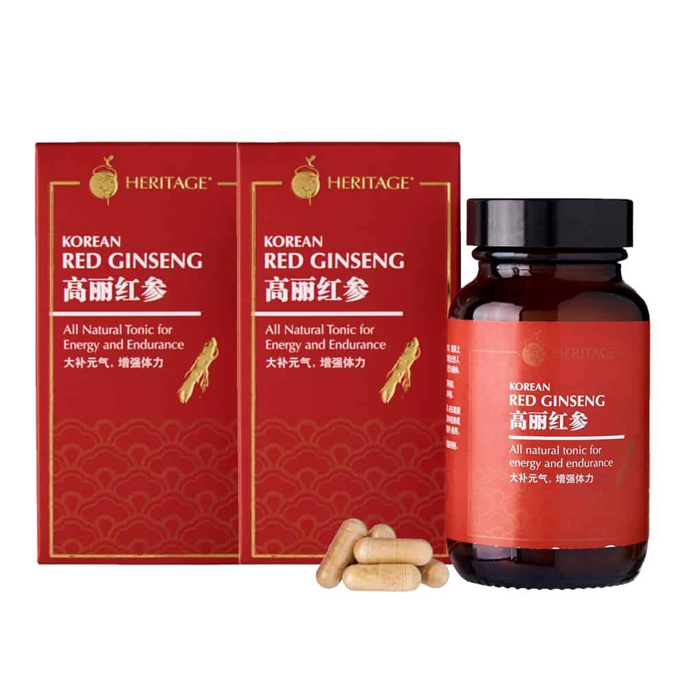 Korean Red Ginseng (Twin Pack)