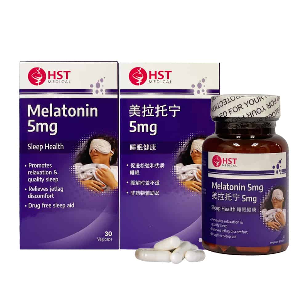 Melatonin 5mg (Twin Pack)