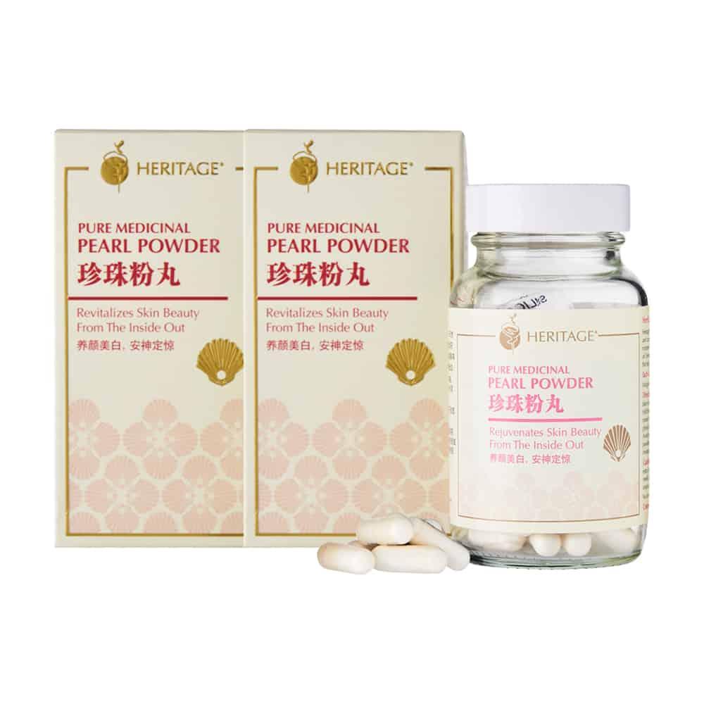 Pure Medicinal Pearl Powder (Twin Pack)