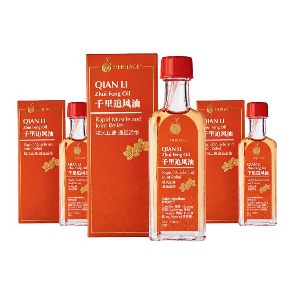 Qian Li Zhui Feng Oil (Triple Pack)
