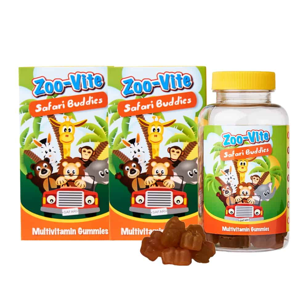 Zoo-Vite Safari Buddies (Twin Pack)
